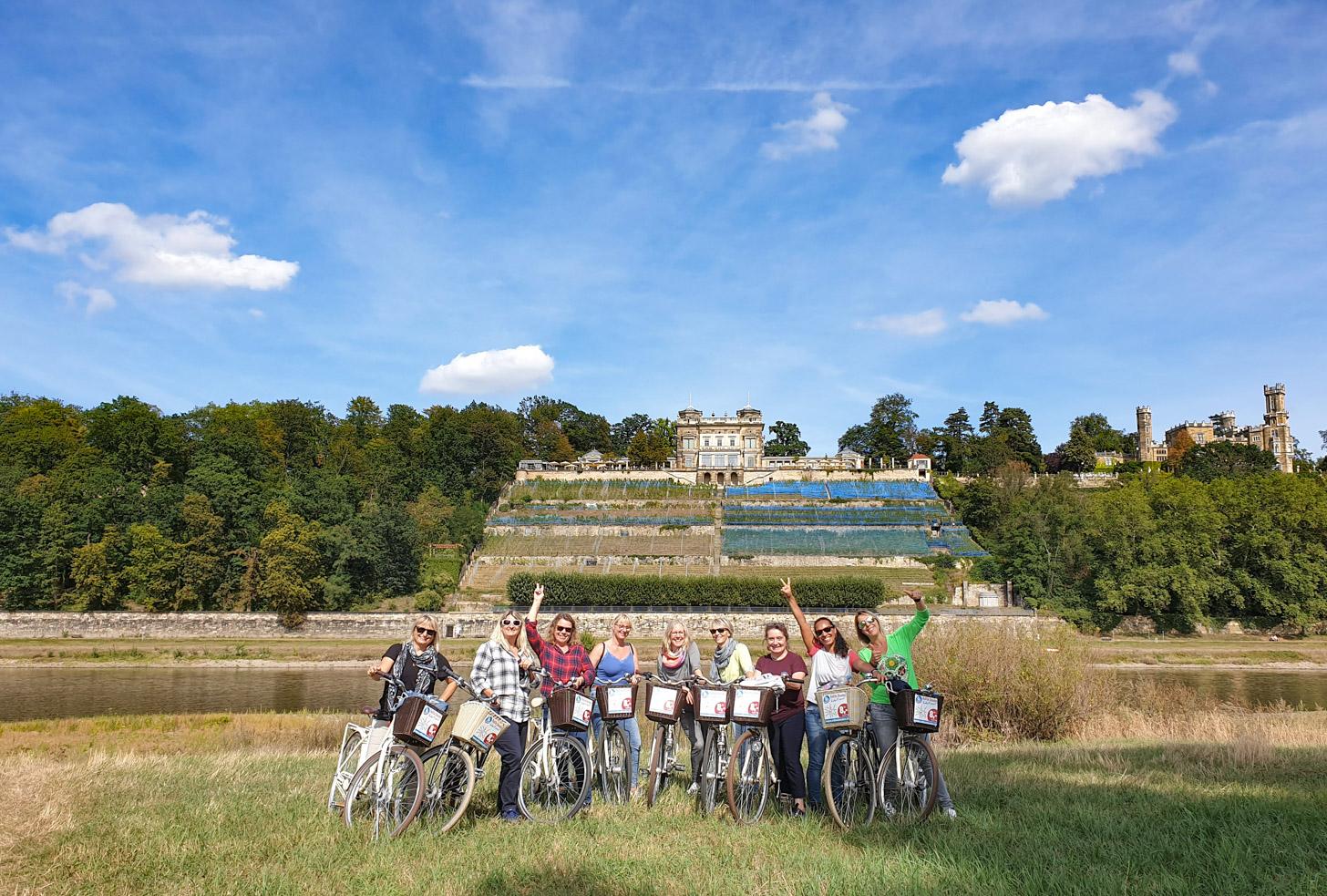 fietstocht Dresden