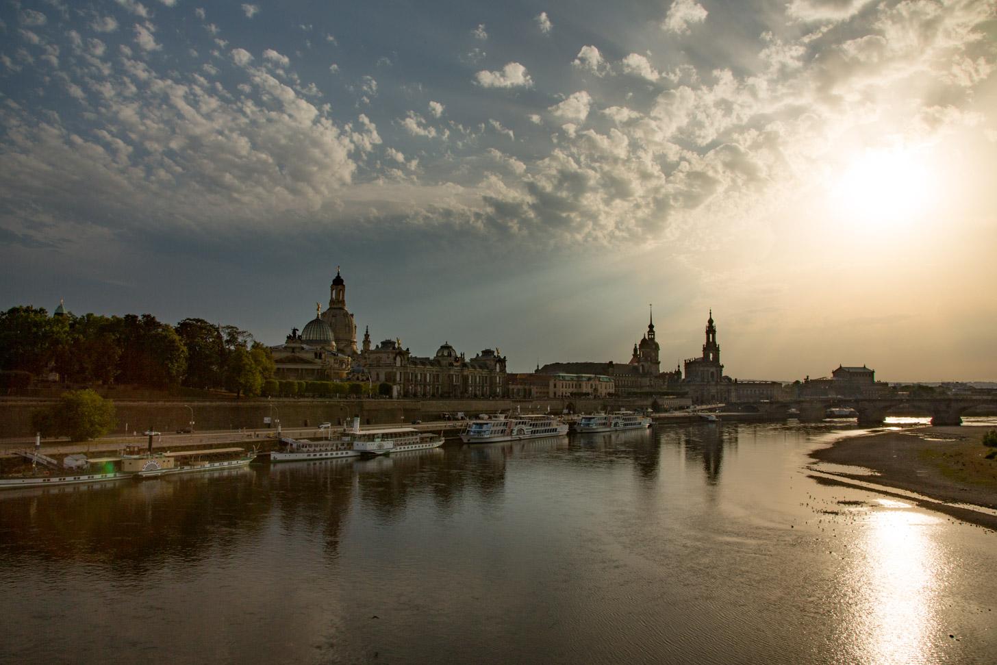 Het weer in Dresden